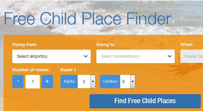 Jet2 Free child places