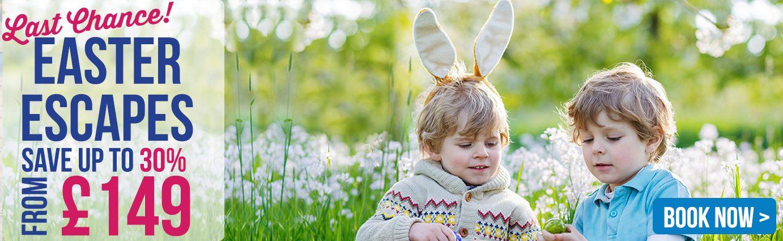 Park Resorts Easter Offer