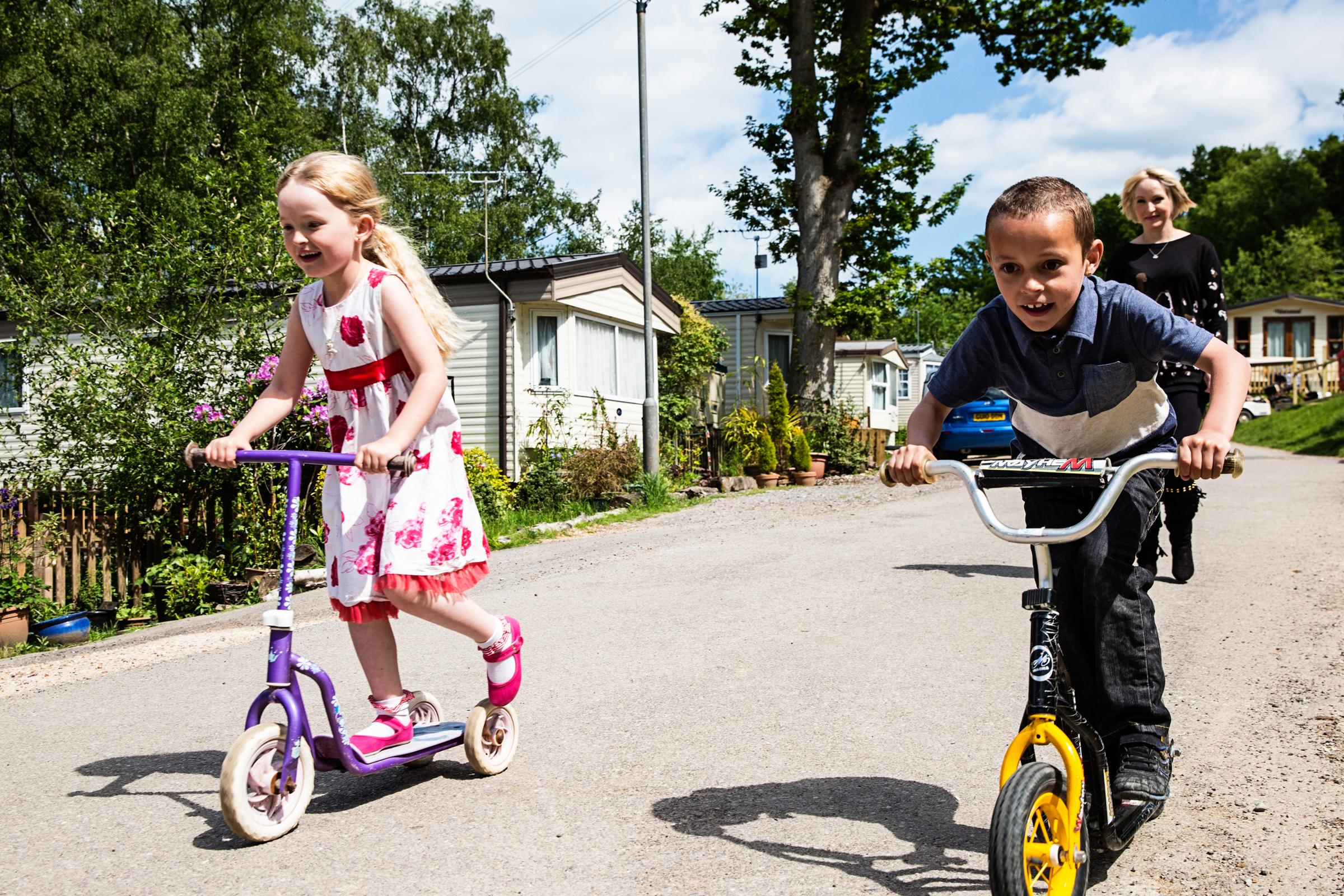 Park Holidays bikes