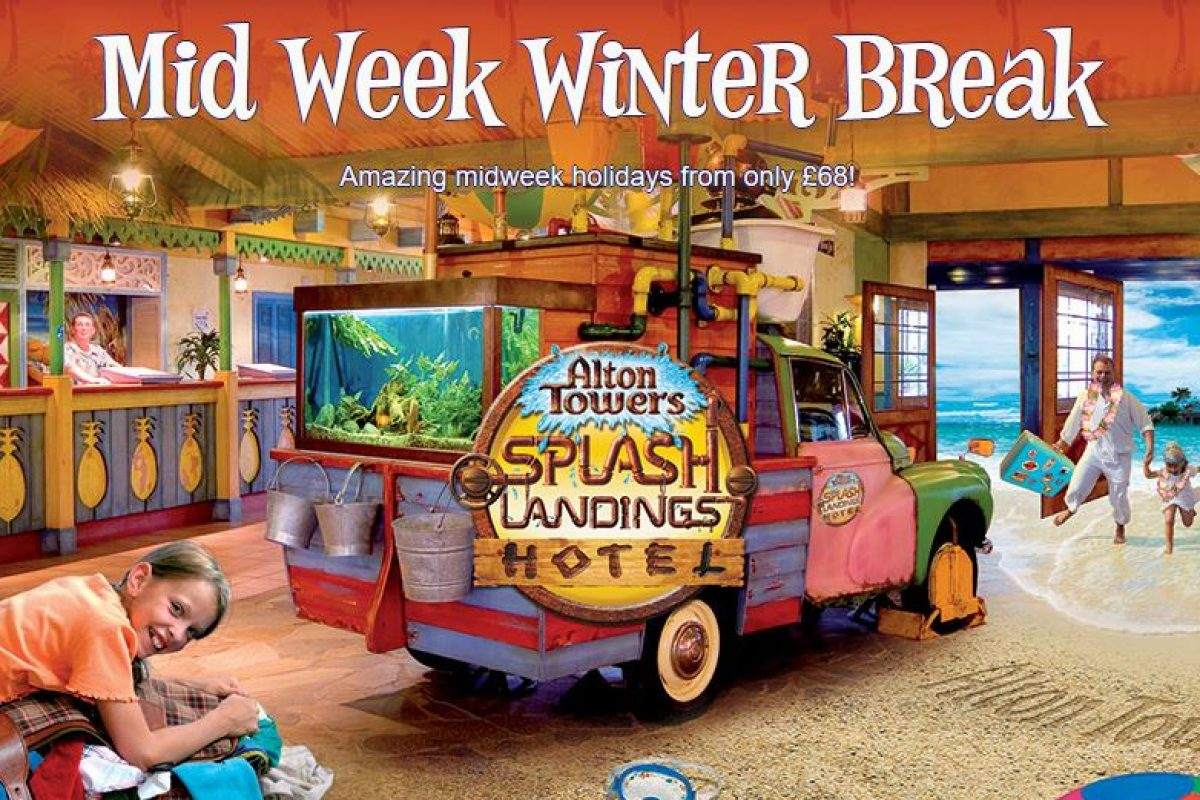 Alton Towers Winter Break
