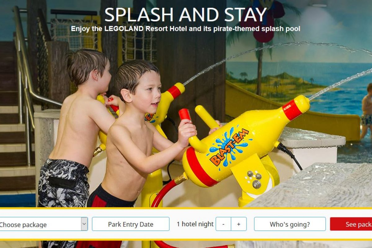 "<span class=""hot"">Hot <i class=""fa fa-bolt""></i></span> Legoland Splash And Stay Offer"