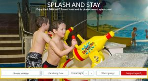 Splash and stay Special offer with Toddler Breaks