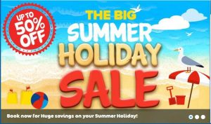 Park Holidays Summer Sale