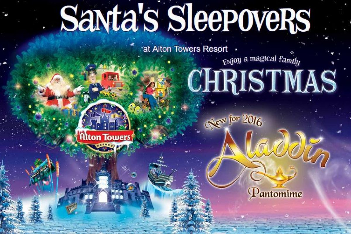 Alton Towers Santa's Sleepovers