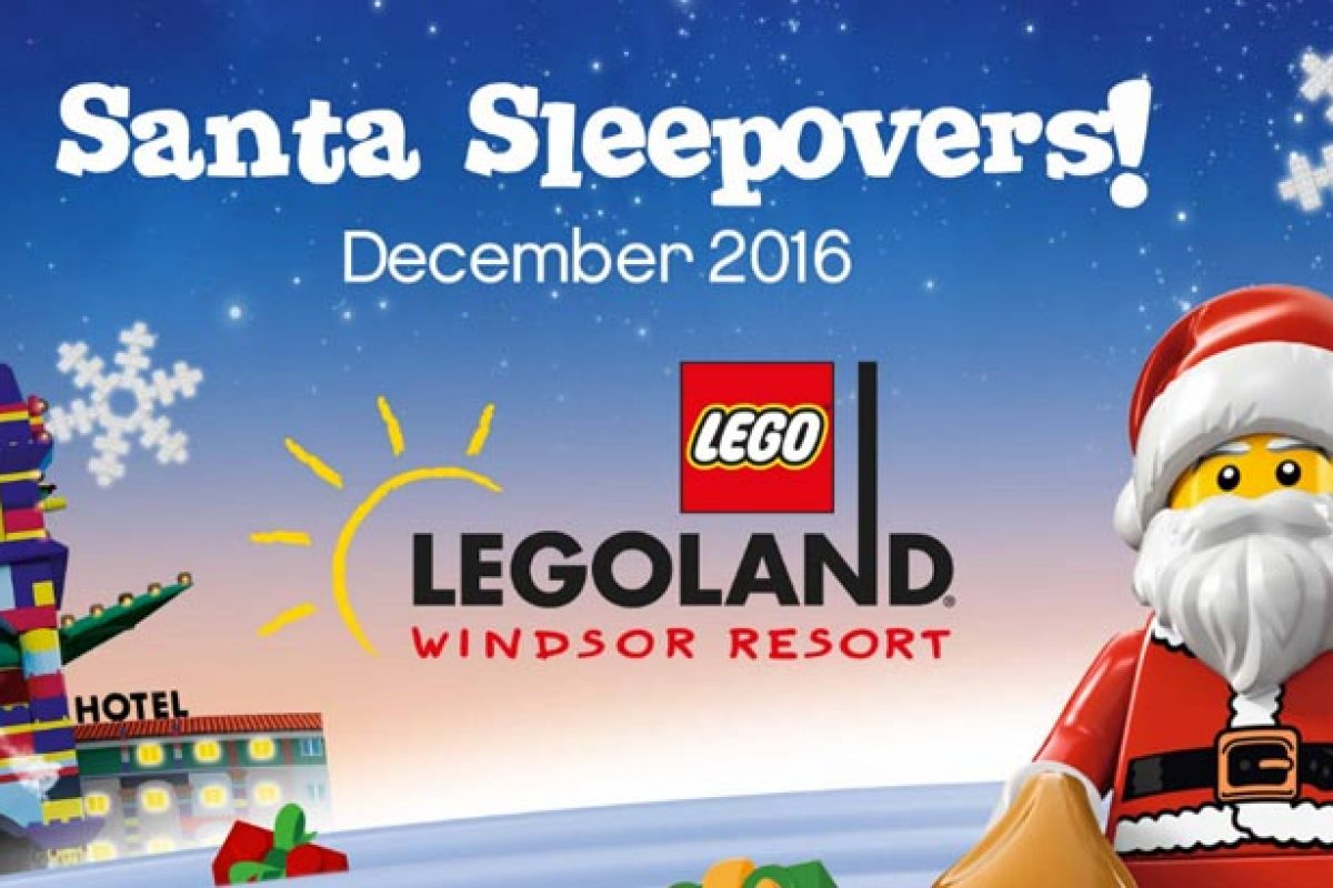 Legoland Santa Sleepover this Christmas