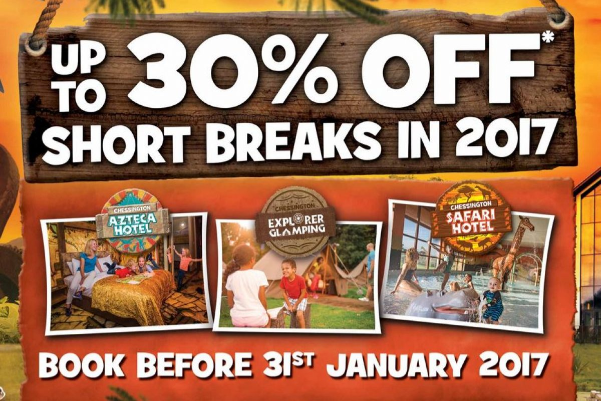 Chessington Holiday 2017 Special Offer save up to 30%