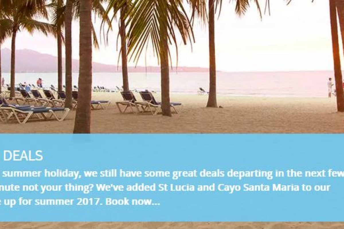 Thomson and Tui special offers