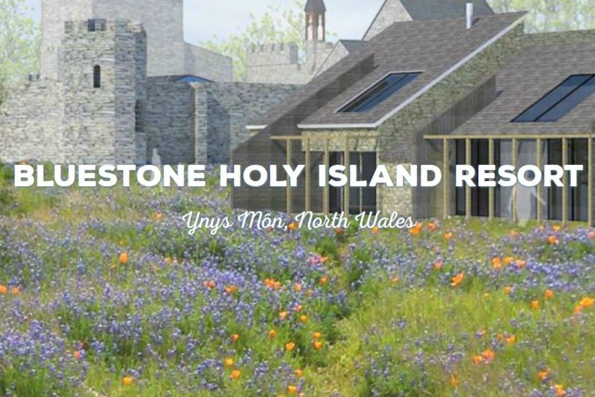 "<span class=""hot"">Hot <i class=""fa fa-bolt""></i></span> New Bluestone Resort in North Wales Holy Island Resort"