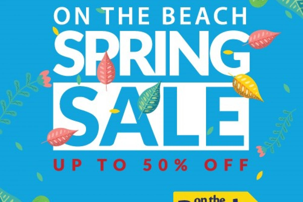 "<span class=""hot"">Hot <i class=""fa fa-bolt""></i></span> On the Beach spring sale"