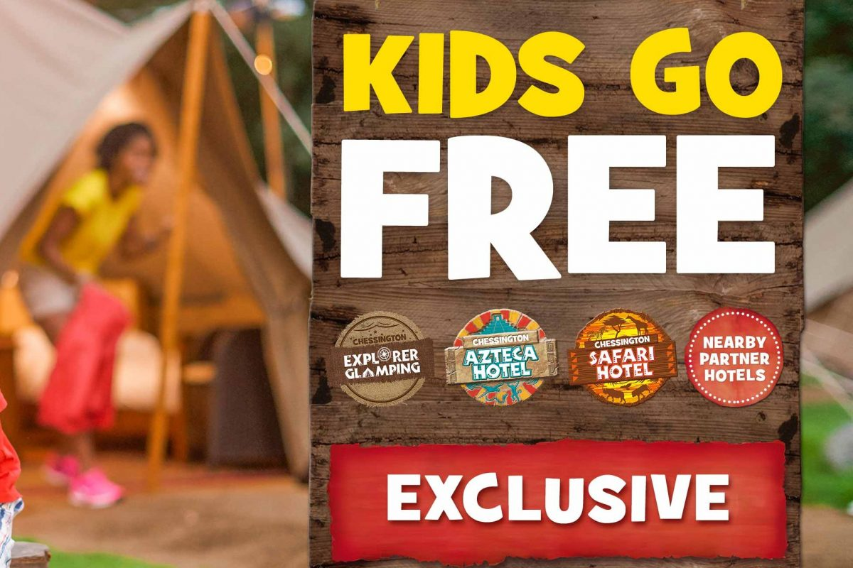 Chessington Kids Go FREE