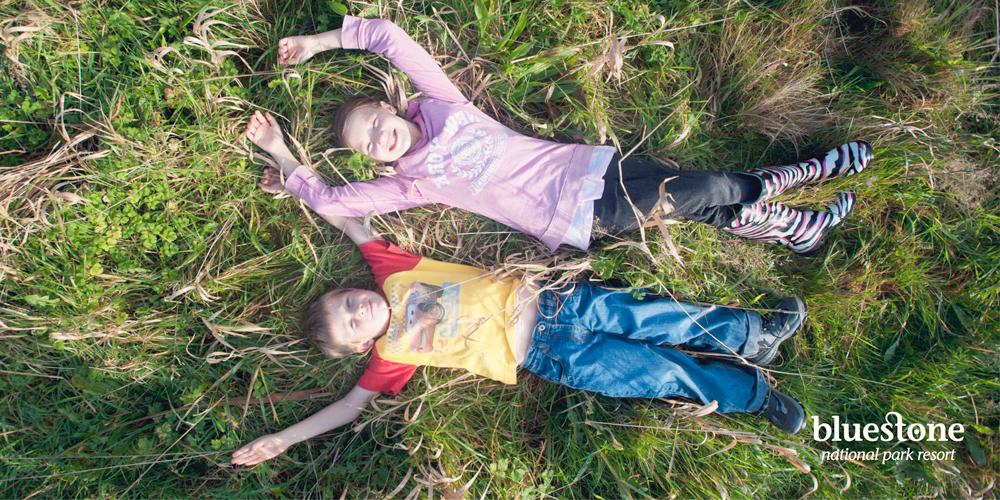 Bluestone kids in a field