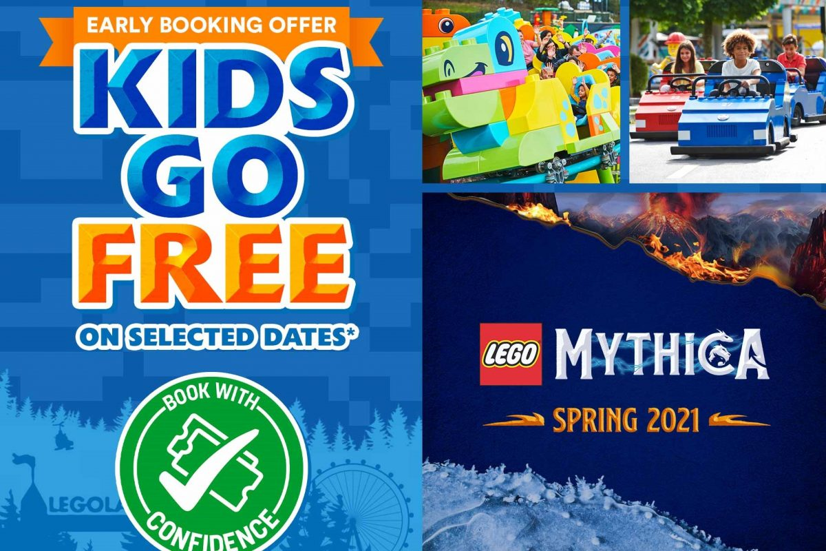 Legoland special offer kids go free